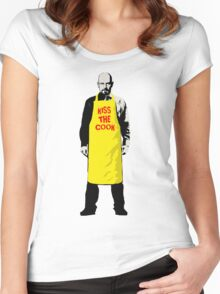 KISS THE COOK Women's Fitted Scoop T-Shirt