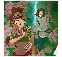 Chihiro & Haku Poster