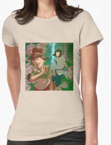 Chihiro & Haku Womens Fitted T-Shirt