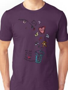 'This Bin houses All Gifts of Love that are Unreciprocated' T-Shirt