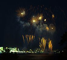 Freedom Festival Fireworks   by Barry W  King