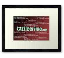 Unofficial TattleCrime.com Merchandise  Framed Print