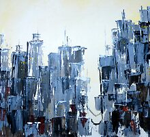 Cityscape by Lesley Rowe