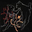 Dancing Sky Lions by Hannah Baker - Jamface