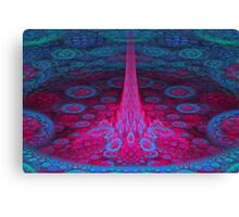 Flowing Up Canvas Print
