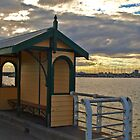 Shelter on the Pier by kalaryder