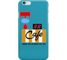 RR Cafe (Twin Peaks) iPhone Case/Skin