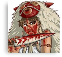 Mononoke's Bloody Knife Canvas Print