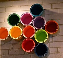 Buckets of Colour by DEB CAMERON