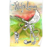 Wolf's Lesson Poster