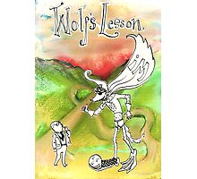 Wolf's Lesson Photographic Print