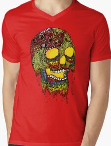 Brain Melter Mens V-Neck T-Shirt