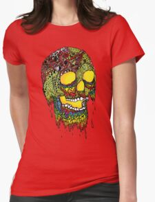 Brain Melter Womens Fitted T-Shirt