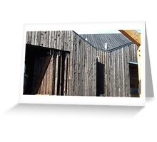 Wooden shack - near Falkirk, Scotland Greeting Card