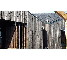 Wooden shack - near Falkirk, Scotland Photographic Print