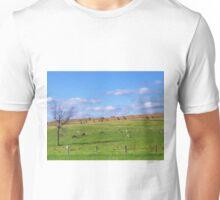On an Amish farm Unisex T-Shirt