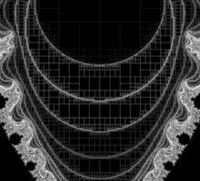 Inverted Mandelbrot II Sticker