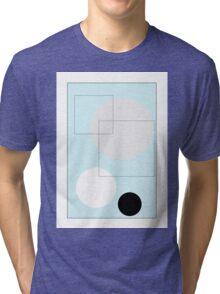 Blue Circles - 3 Tri-blend T-Shirt