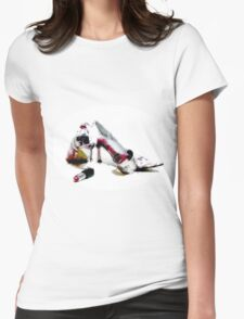 Lipstick Womens Fitted T-Shirt