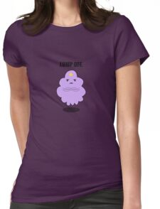 Grumpy Space Princess Womens Fitted T-Shirt