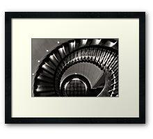 McManus Stairwell Framed Print