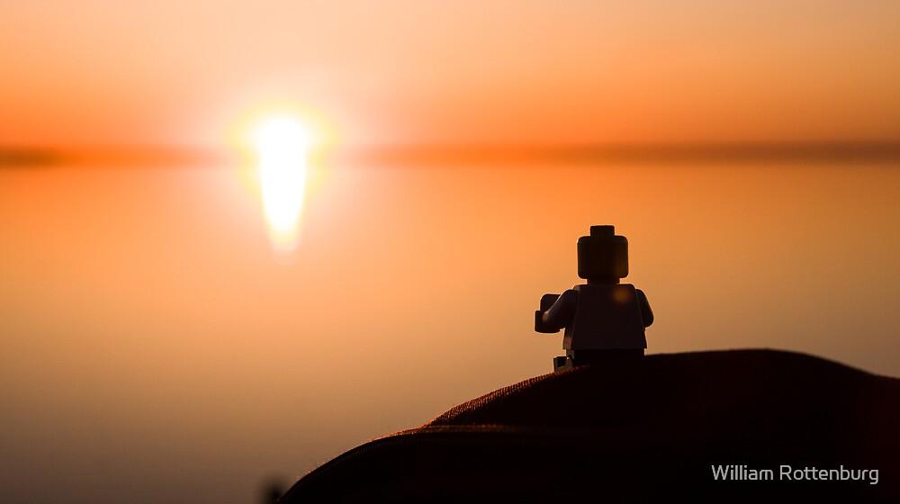 Sunset Cuppa by William Rottenburg