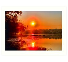 It's Going to be a Scorcher! Art Print