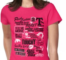 Quoted Womens Fitted T-Shirt