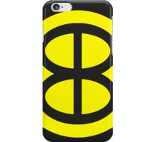 Blue Blaze Irregular - Image only iPhone Case/Skin
