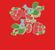 Geraniums and Blue Jays T-Shirt