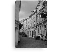 Bath Streets Canvas Print