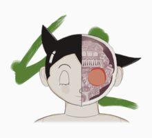 Bust of Astro Boy by mindofamonkey