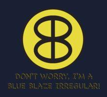 Blue Blaze Irregular Kids Clothes
