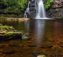 Tourmakeady waterfall Co. Mayo Ireland. by MickBourke
