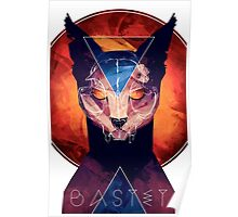 Bastet - Cat Goddess Poster