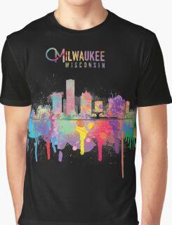Milwaukee Skyline Graphic T-Shirt