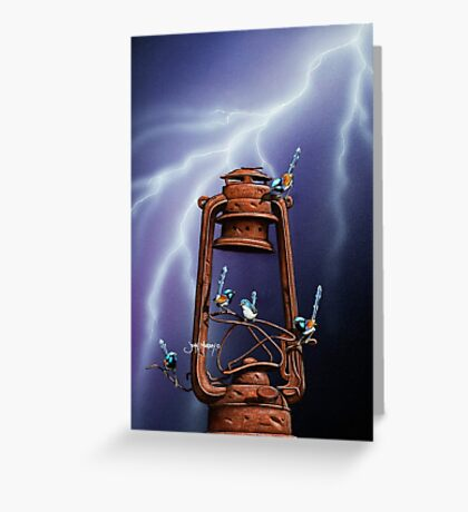Boys Light Up! Greeting Card