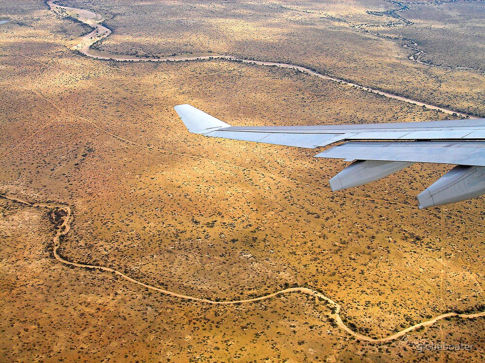 Flying high over Namibia by globeboater