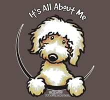 Yellow Labradoodle :: It's All About Me Baby Tee