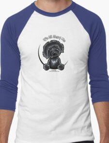 Black Labradoodle :: It's All About Me Men's Baseball ¾ T-Shirt