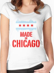 Made in Chicago Women's Fitted Scoop T-Shirt