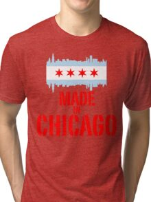 Made in Chicago Tri-blend T-Shirt