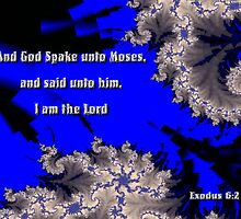 Moses - Exodus 6.2 by judygal