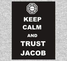 Keep Calm and Trust Jacob One Piece - Long Sleeve