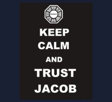 Keep Calm and Trust Jacob Kids Clothes