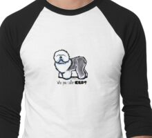 OES 'Who You Callin Old' Men's Baseball ¾ T-Shirt
