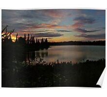Chipppewa Sunset Poster