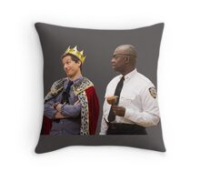 Jake Peralta and Raymond Holt Throw Pillow