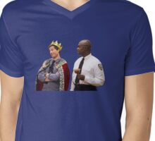 Jake Peralta and Raymond Holt Mens V-Neck T-Shirt