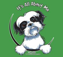 Black/White Shih Tzu :: It's All About Me Kids Clothes